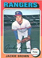 1975 Topps #316 Jackie Brown