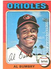 1975 Topps #358 Al Bumbry