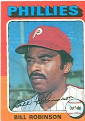 1975 Topps #501 Bill Robinson