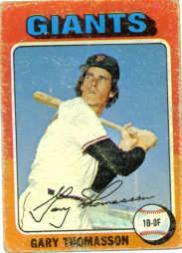 1975 Topps #529 Gary Thomasson