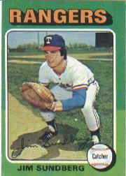 1975 Topps #567 Jim Sundberg RC