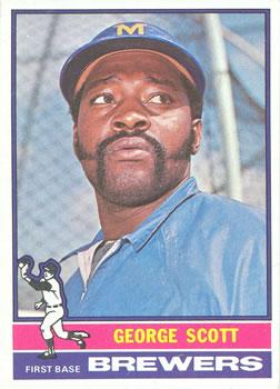 1976 Topps #15 George Scott