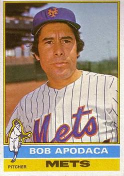 1976 Topps #16 Bob Apodaca