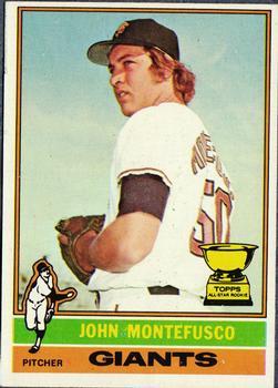1976 Topps #30 John Montefusco RC