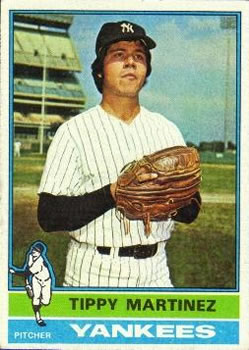 1976 Topps #41 Tippy Martinez RC