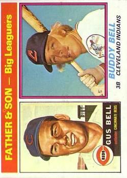 1976 Topps #66 Gus Bell FS/Buddy Bell