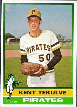 1976 Topps #112 Kent Tekulve RC