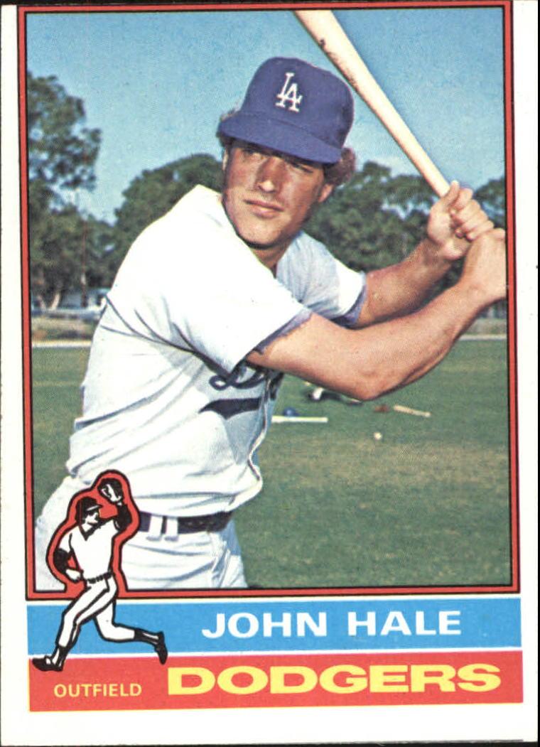 1976 Topps #228 John Hale RC