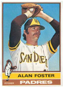 1976 Topps #266 Alan Foster