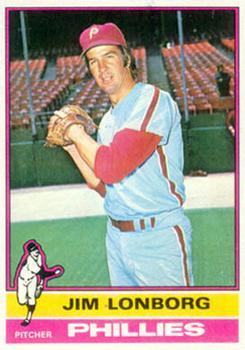 1976 Topps #271 Jim Lonborg