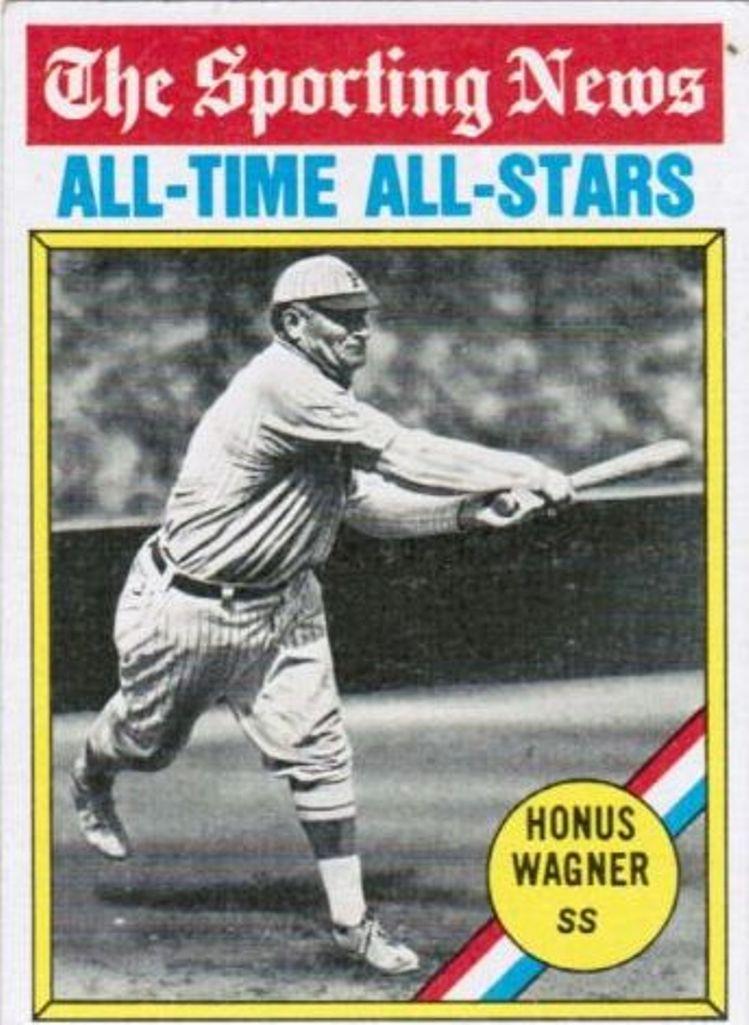 1976 Topps #344 Honus Wagner ATG