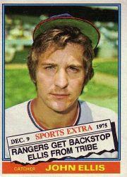 1976 Topps Traded #383T John Ellis