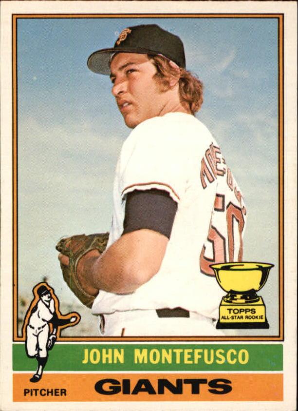 1976 O-Pee-Chee #30 John Montefusco RC