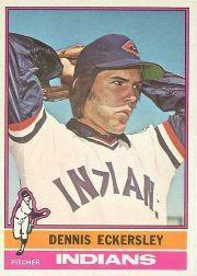 1976 O-Pee-Chee #98 Dennis Eckersley RC