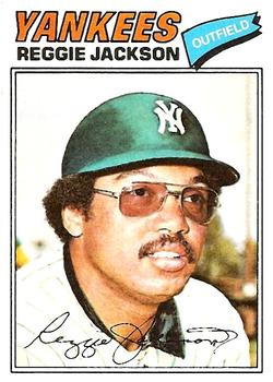 1977 Topps #10 Reggie Jackson