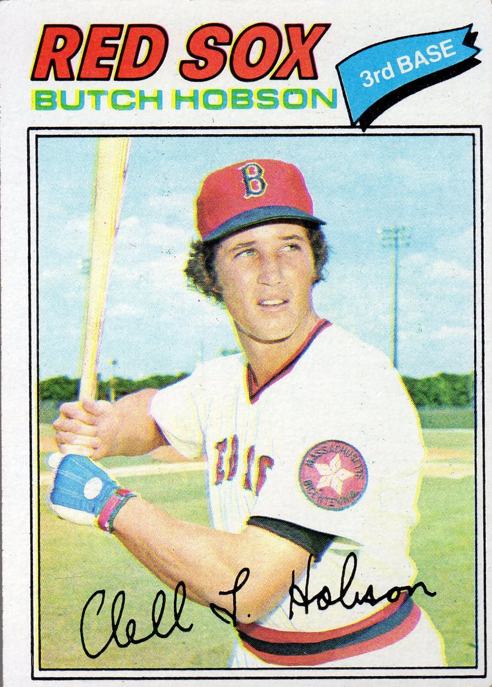 1977 Topps #89 Butch Hobson RC