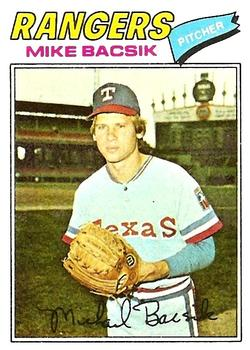 1977 Topps #103 Mike Bacsik RC