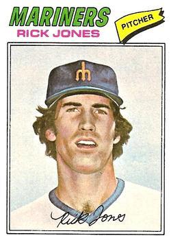 1977 Topps #118 Rick Jones RC