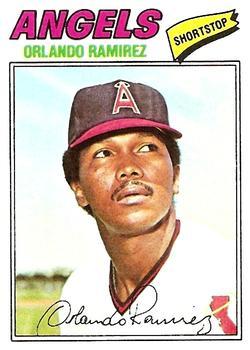 1977 Topps #131 Orlando Ramirez RC