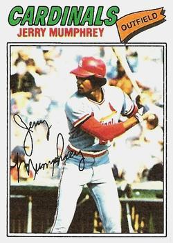1977 Topps #136 Jerry Mumphrey RC
