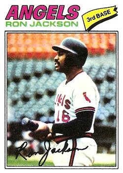 1977 Topps #153 Ron Jackson RC
