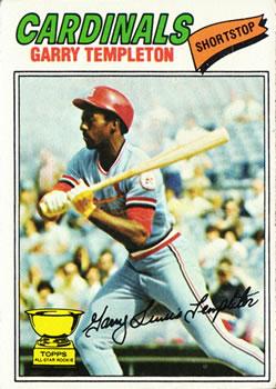 1977 Topps #161 Garry Templeton RC