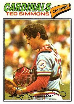 1977 Topps #470 Ted Simmons