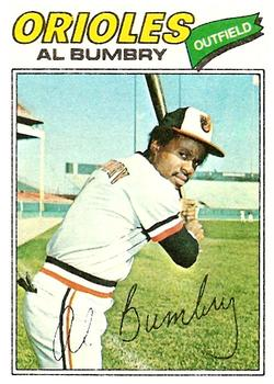 1977 Topps #626 Al Bumbry