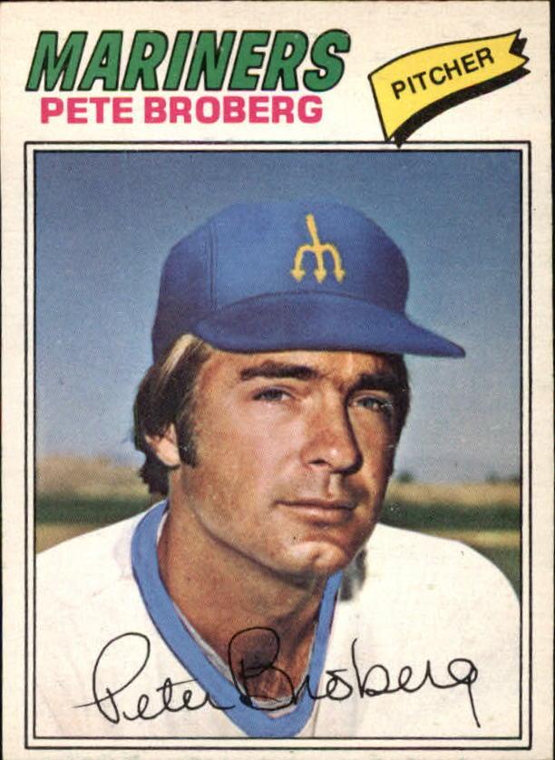 1977 O-Pee-Chee #55 Pete Broberg