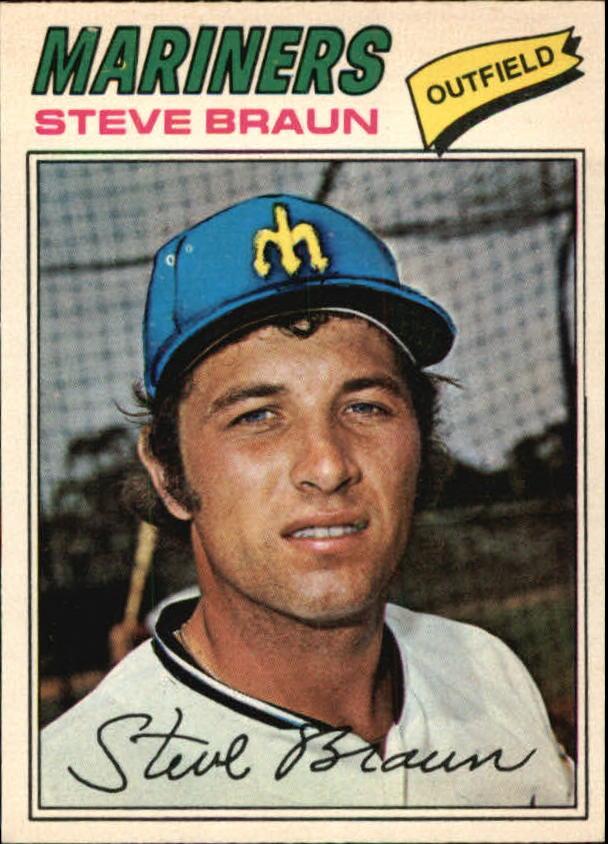 1977 O-Pee-Chee #123 Steve Braun