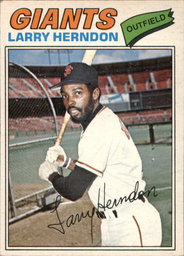1977 O-Pee-Chee #169 Larry Herndon RC
