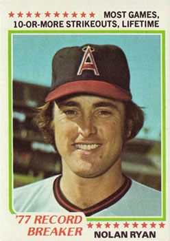 1978 Topps #6 Nolan Ryan RB