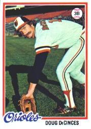 1978 Topps #9 Doug DeCinces