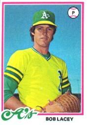 1978 Topps #29 Bob Lacey RC