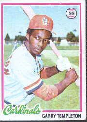 1978 Topps #32 Garry Templeton