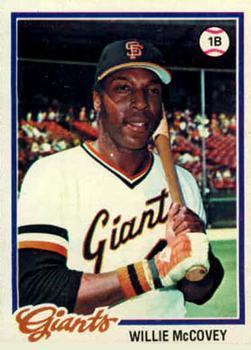 1978 Topps #34 Willie McCovey