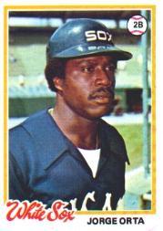 1978 Topps #42 Jorge Orta