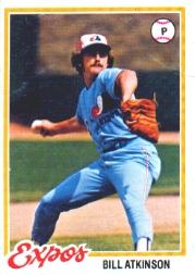 1978 Topps #43 Bill Atkinson RC