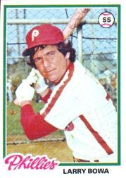 1978 Topps #90 Larry Bowa