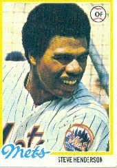 1978 Topps #134 Steve Henderson RC