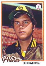 1978 Topps #164 Bob Owchinko RC