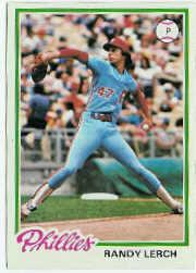 1978 Topps #271 Randy Lerch DP
