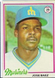 1978 Topps #311 Jose Baez DP RC