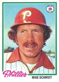 1978 Topps #360 Mike Schmidt