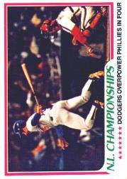1978 Topps #412 NL Championships/Davey Lopes