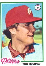 1978 Topps #446 Tug McGraw