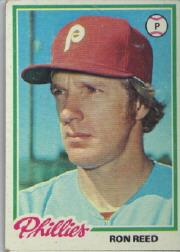 1978 Topps #472 Ron Reed