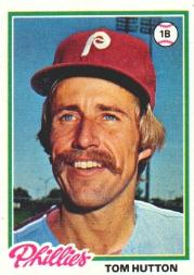 1978 Topps #568 Tom Hutton