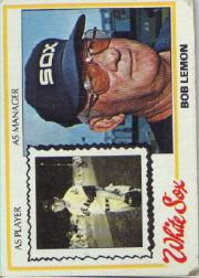 1978 Topps #574 Bob Lemon MG