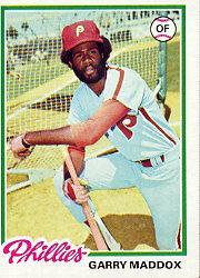 1978 Topps #610 Garry Maddox
